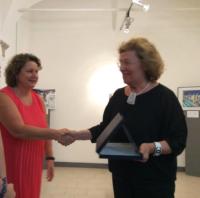 Premiata dalla regista televisiva e giornalista Lucia Zorzi