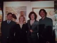 con la Prof. Biondolillo e gli editori Serradifalco di Palermo
