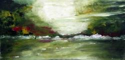 colori e riflessi sul lago 40x60 2000