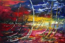 i colori della regata 150x100 2006