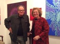 Liliana con l'artista Paolo Crescentini