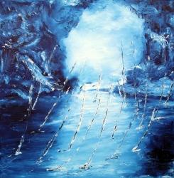 paesaggio dantesco 100x100  2011