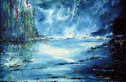 sogno in azzurro 60x90 2007